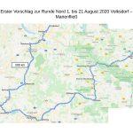 Nordtreck 2020 - Friedensglocken e. V.