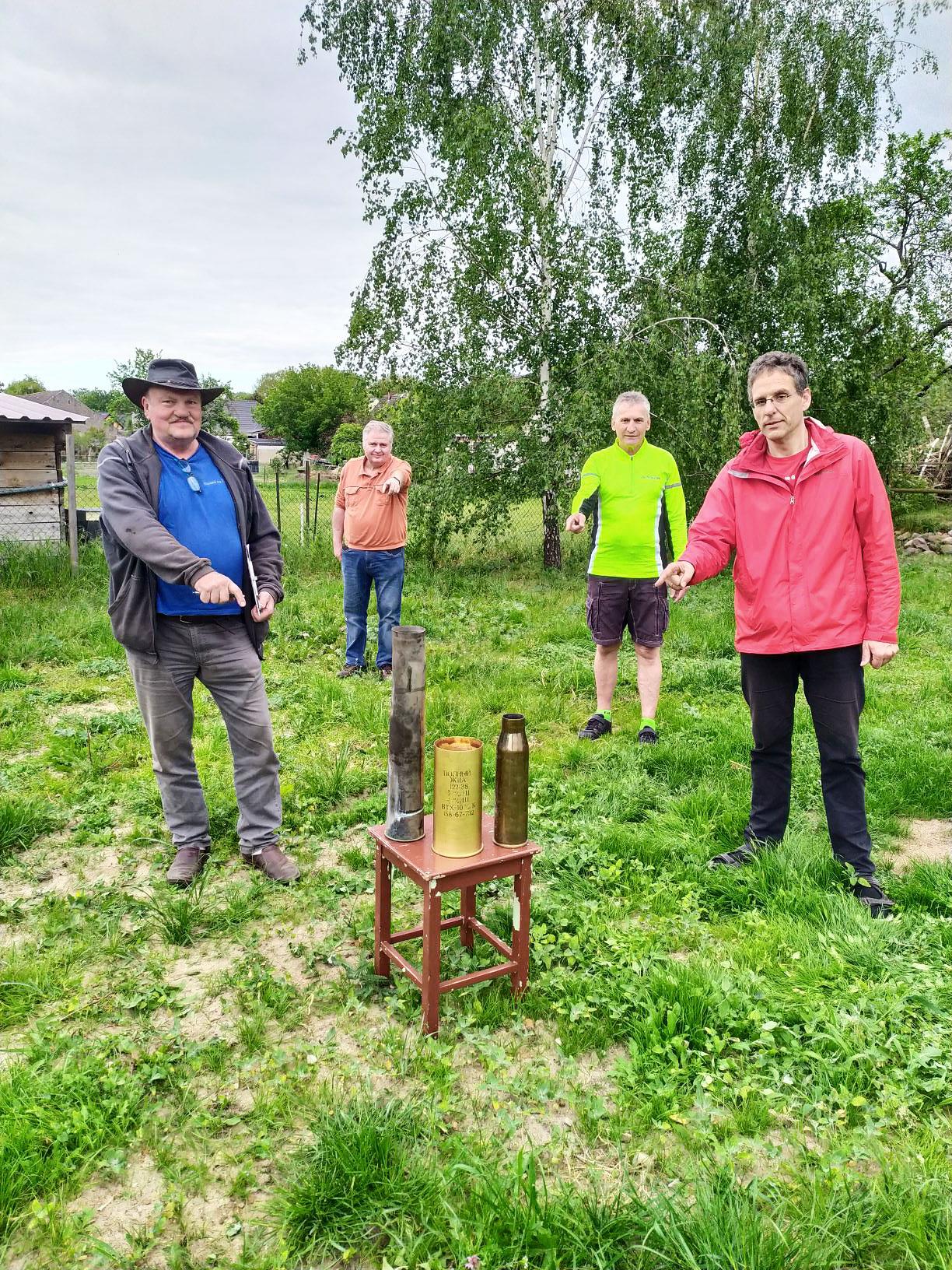 Backschweintenne in Gömnigk – Glockenguss für den Frieden