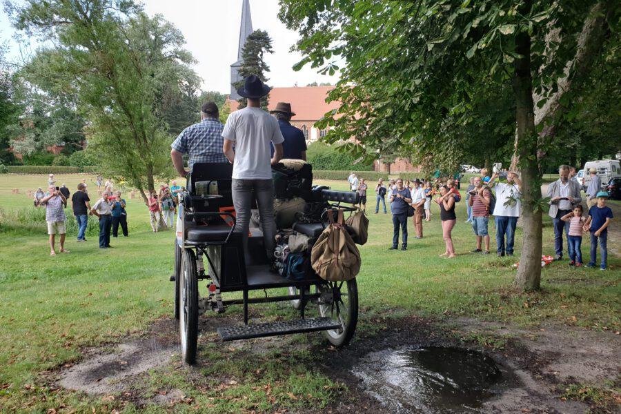 Nordtreck 2020 – Tag 21 – Ankunft im Kloster Marienfließ
