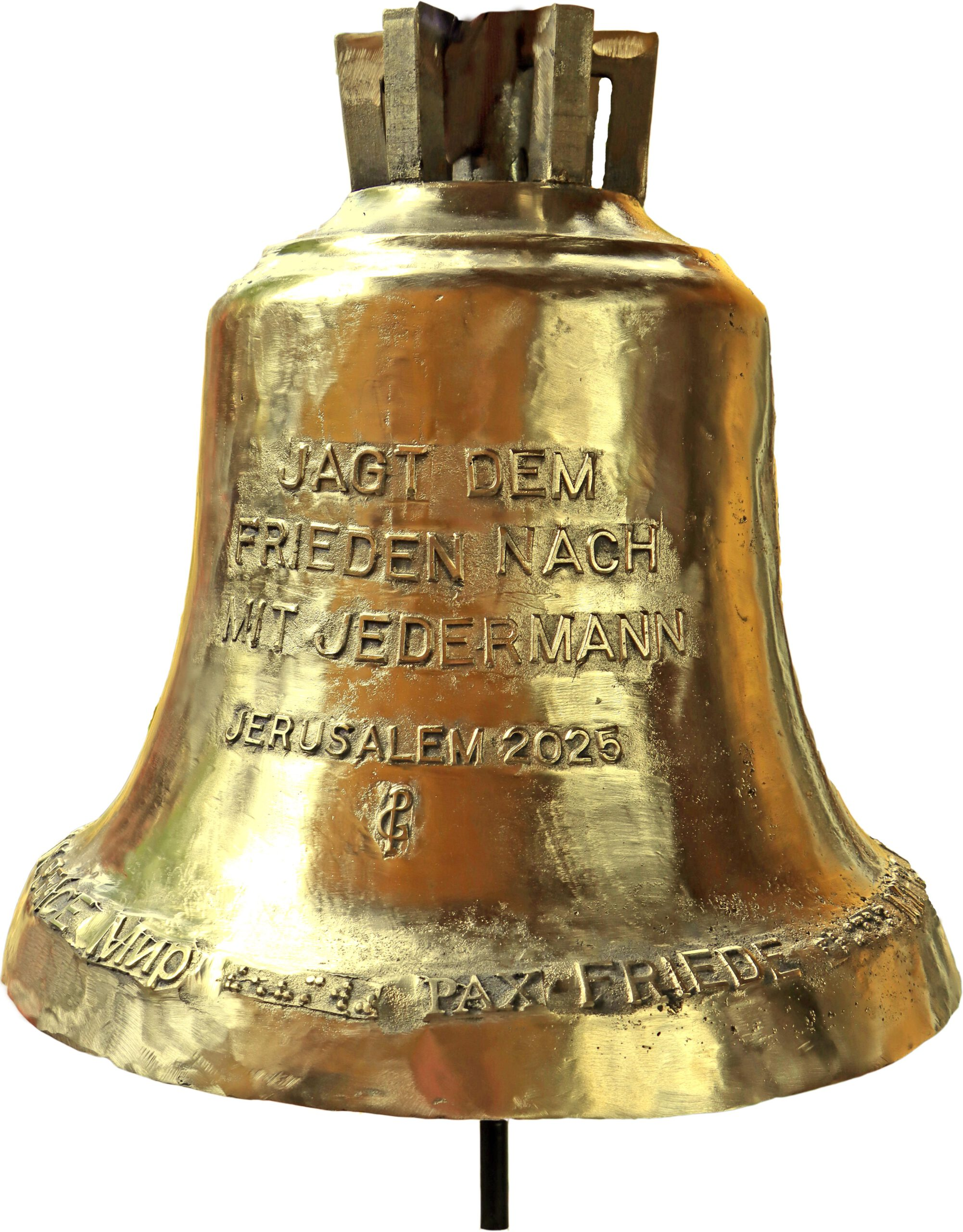 Peace Mission – A Bell for Jerusalem