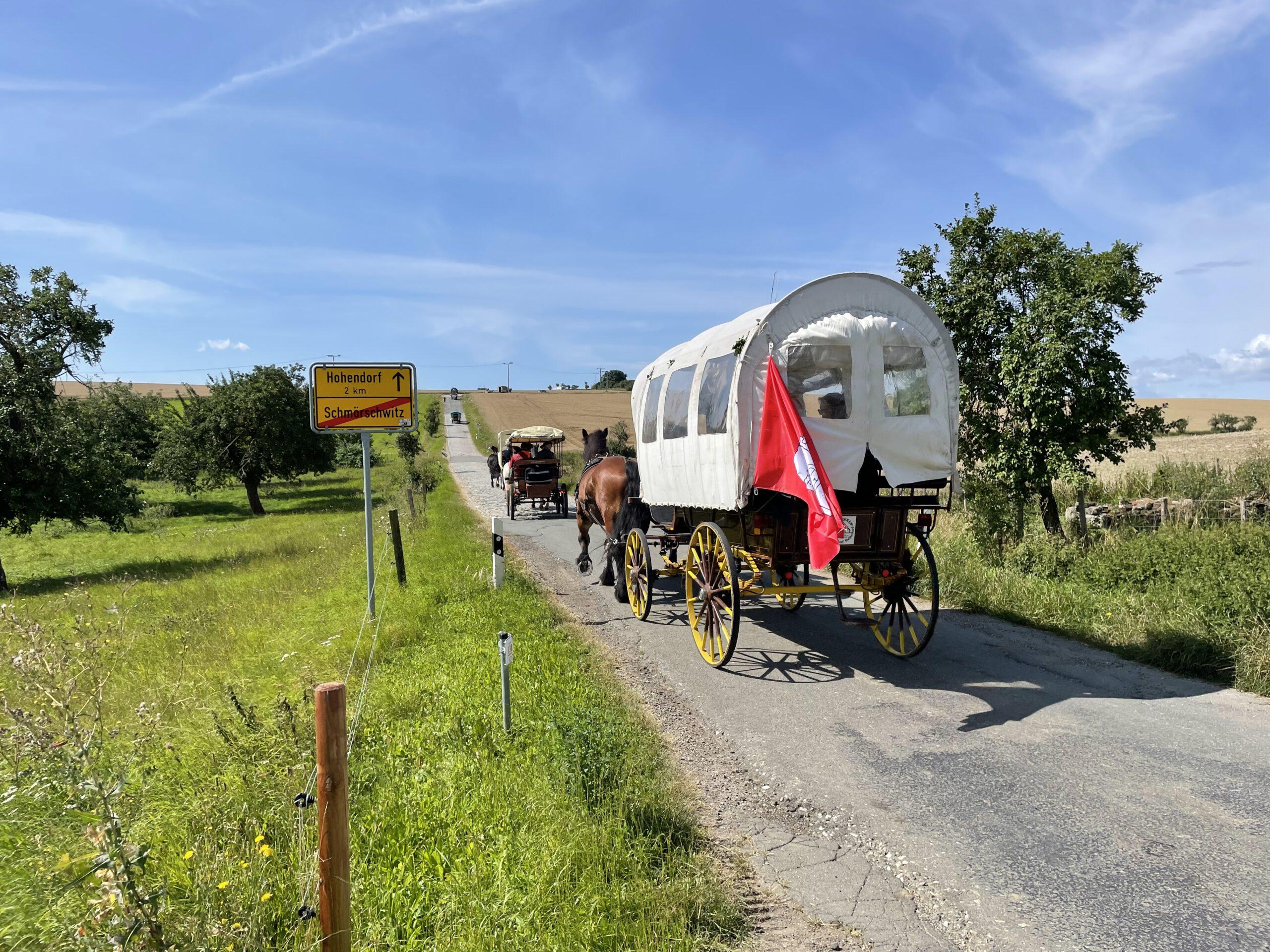 Pferde lehren Frieden – Friedenstreck begeistert Thüringen