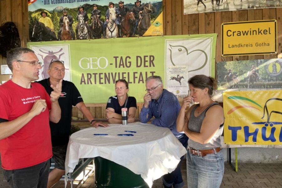 Ost-West-Friedenstreck - von Thüringen nach Westfalen 2021