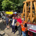Start Ost-West-Treck 2021 in Altenburg